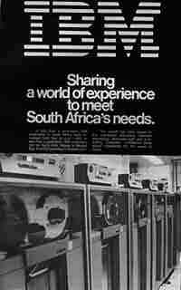 IBM advertisement